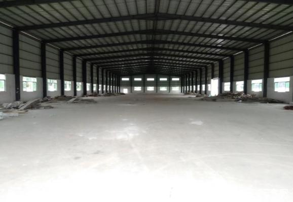 东莞茶山原房东钢构厂房7000,滴水11米,空地超大