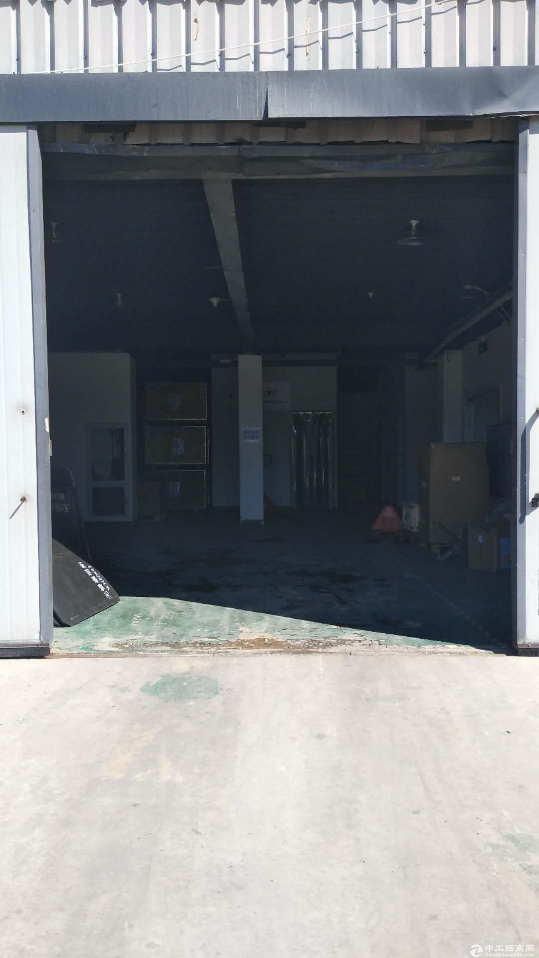 【联东U谷】608平厂房有大货门可做展厅开发商直租