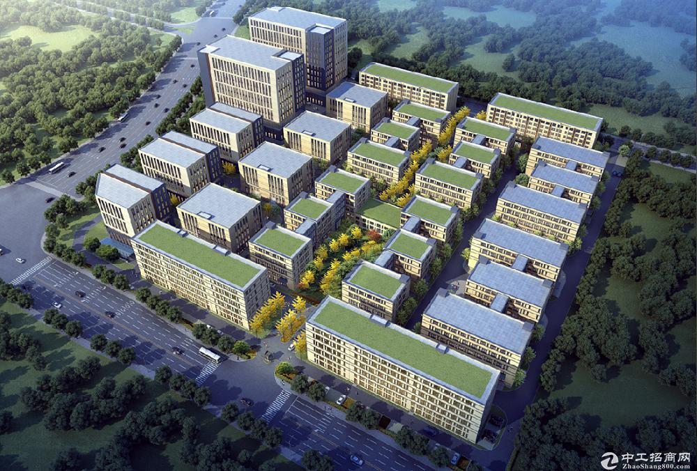 长沙高新区稀缺4层独栋生产研发办公于一体 1200-8000平自由组合 非中介