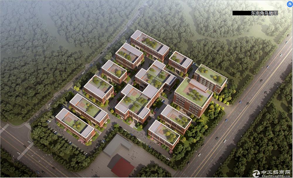 江宁600-7200平米独栋产权厂房出售,央企开发,可独栋可分层