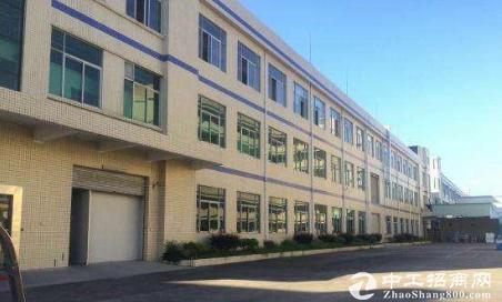 东莞茶山镇卢屋工业区新出800平9成新楼上厂房