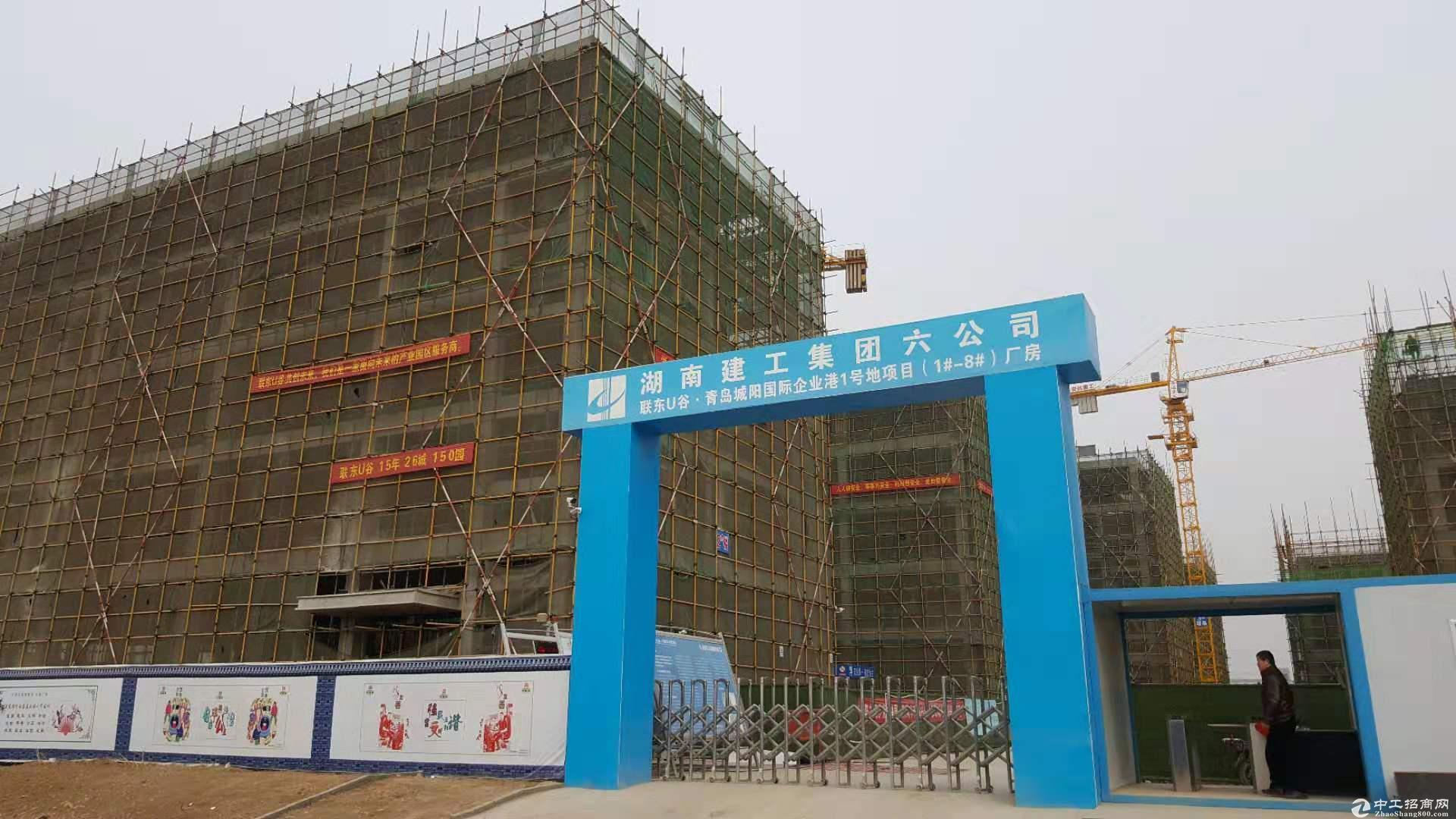 (出售)标准钢混厂房 50年大产权 联东出品