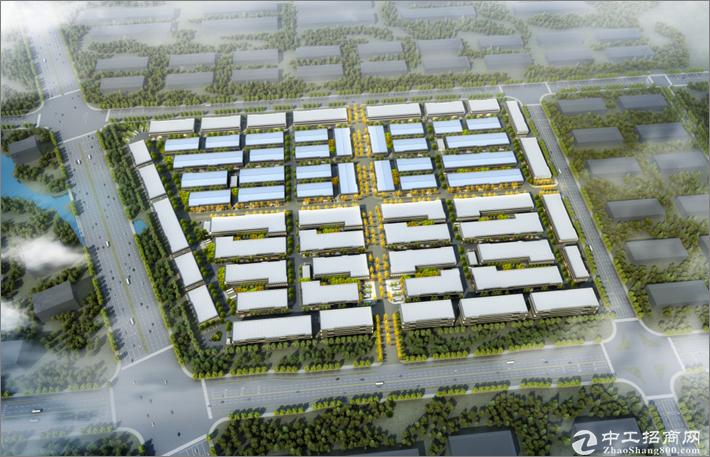 离天河机场11公里创智产业园钢结构框架厂房出售