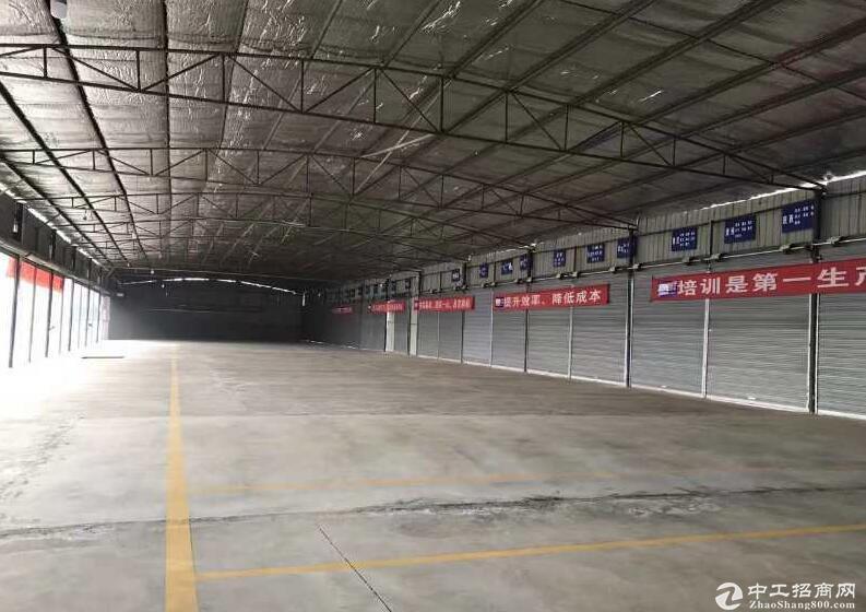 推荐)工业园区大川物流标准钢结构仓库园区直租