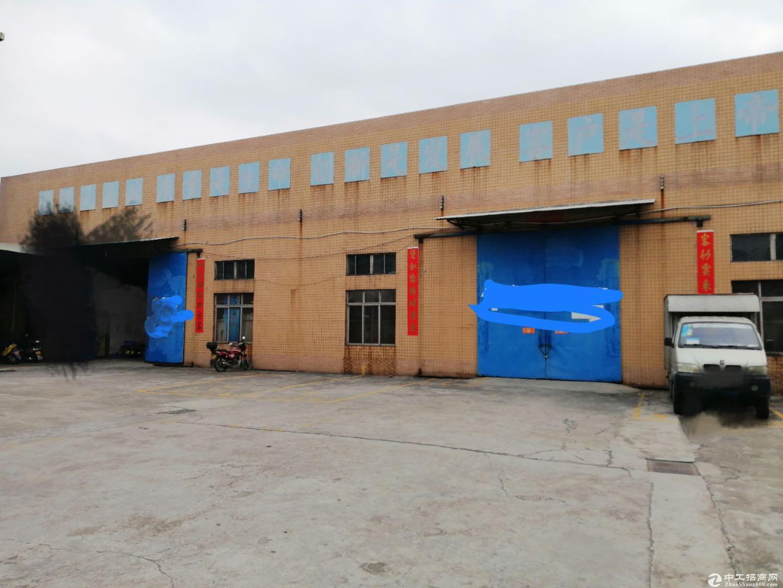 西樵独院标准厂房3000方出租出入方便