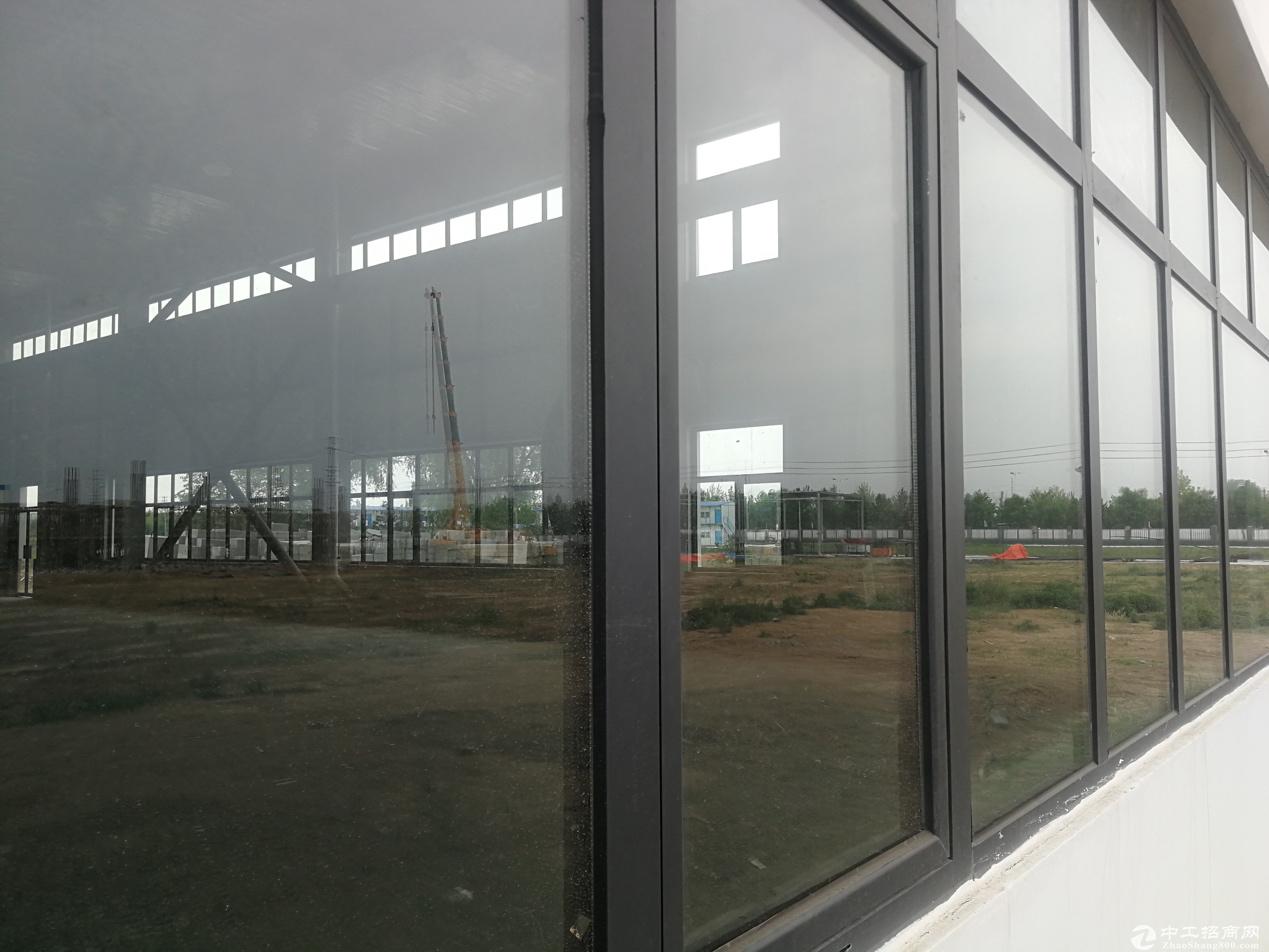 郑州北钢构厂房出售,12米层高,正规工业园,送院子