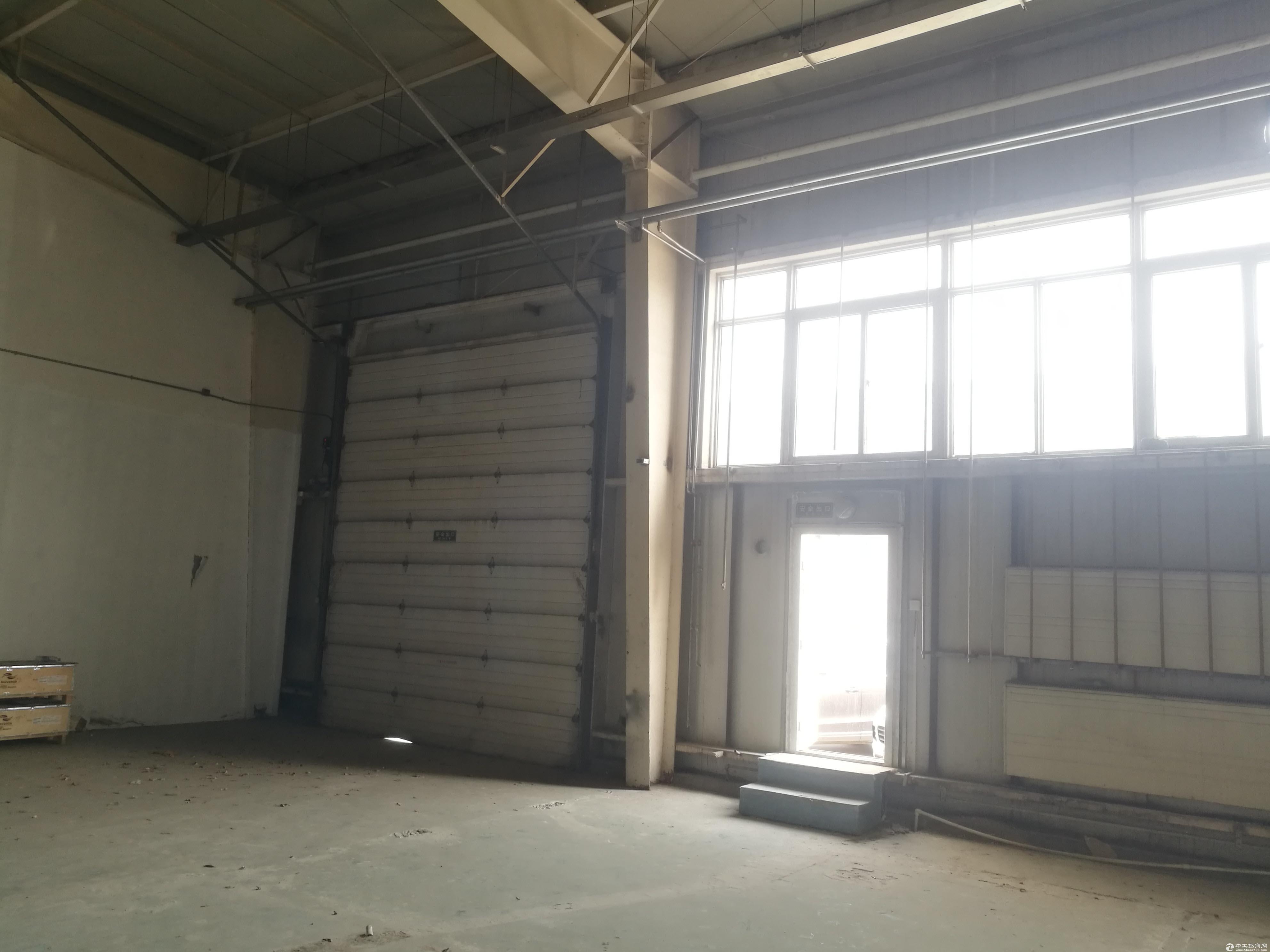 亦庄536平一层框架厂房,层高6米,开发商直租!