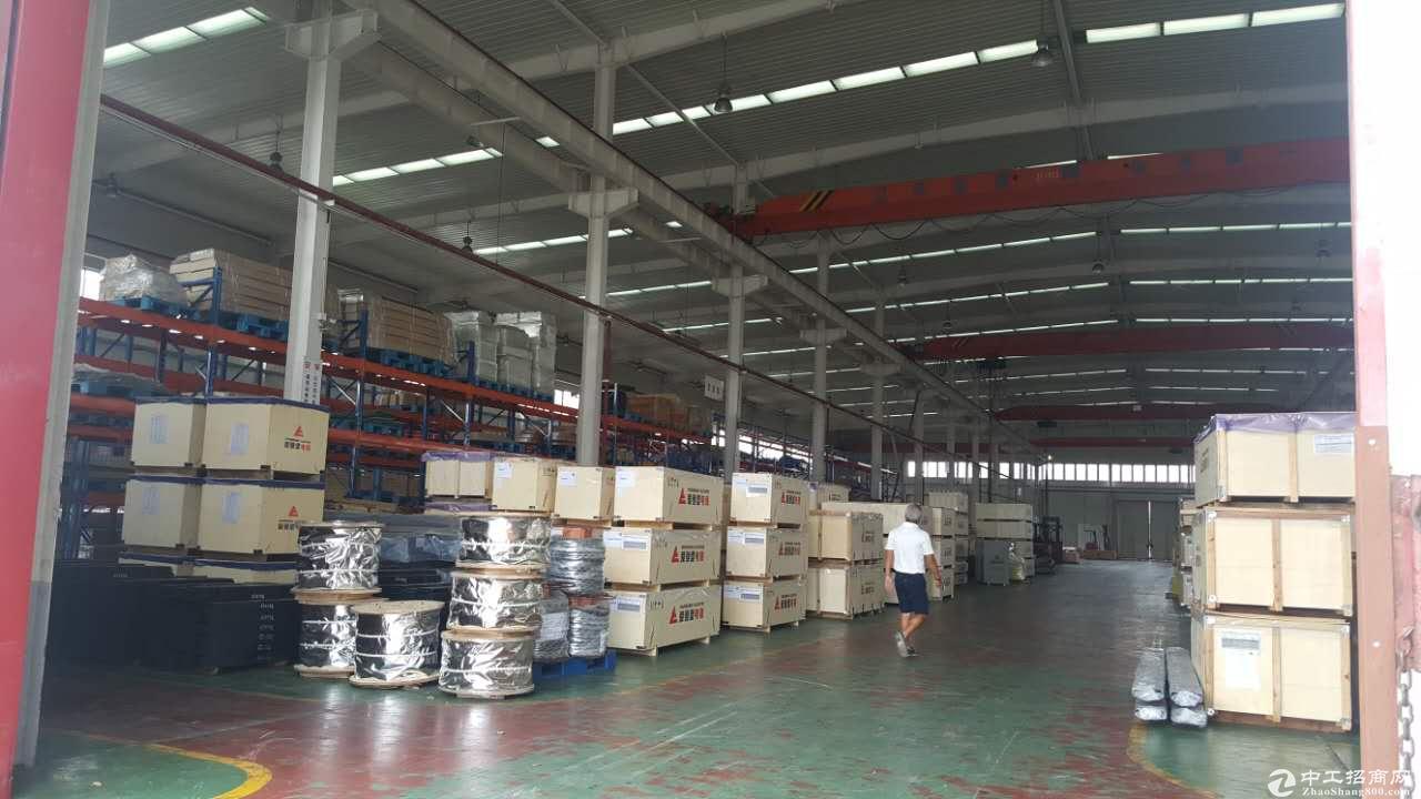 张江东工业园1.5万平标准厂房高11米带20T行车