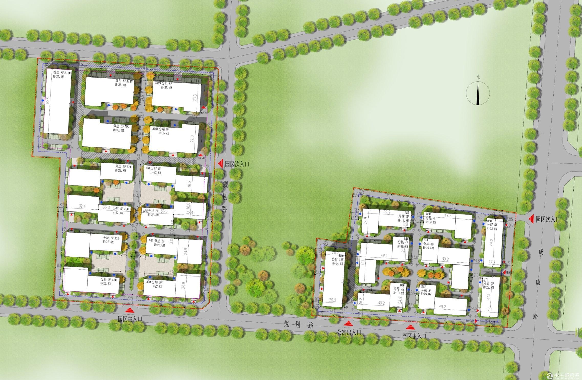 城阳标准厂房出售50年产权、双证可贷款、园区环评