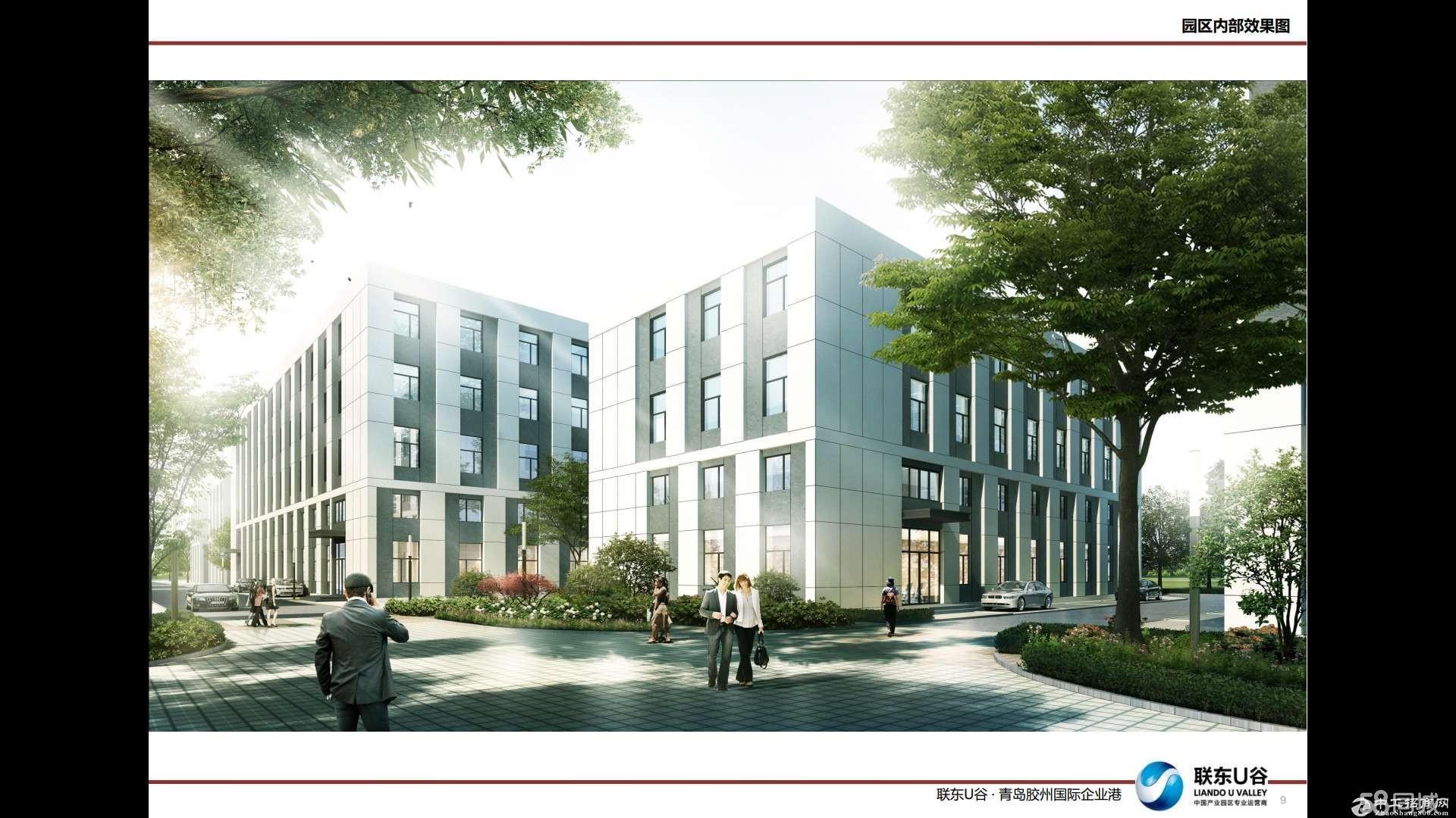 胶州标准厂房出售、双证、50年产权可贷款园区环评