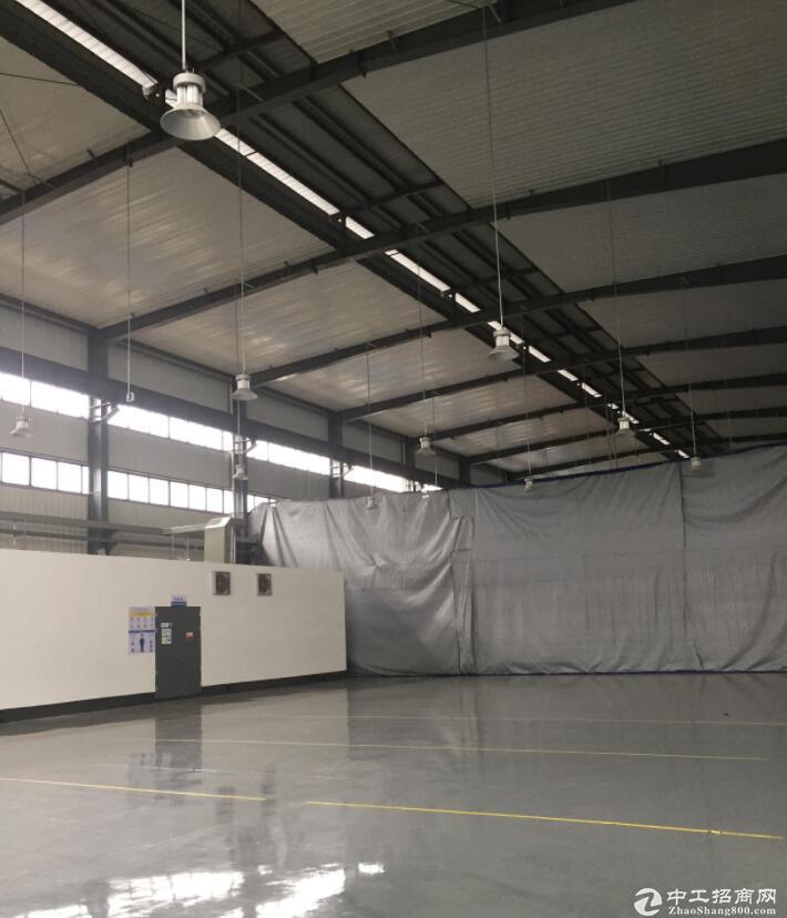 工业园独栋6000平标准厂房带行车可分租