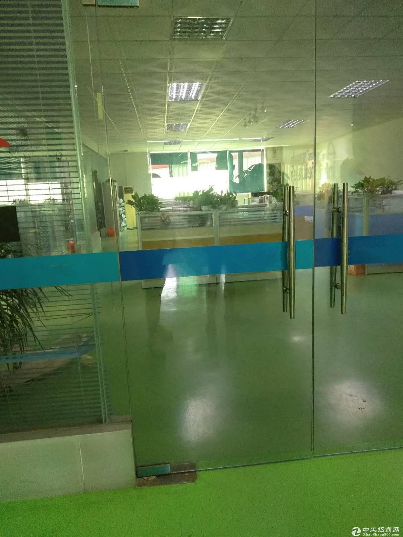 江海高新区2楼1200方厂房出租 带精装修办公室