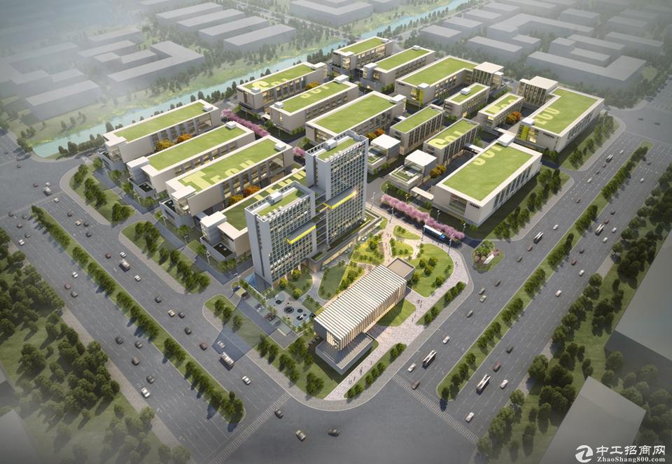 肇庆·时代智造港,定制企业独门独院研发厂房出售-图2