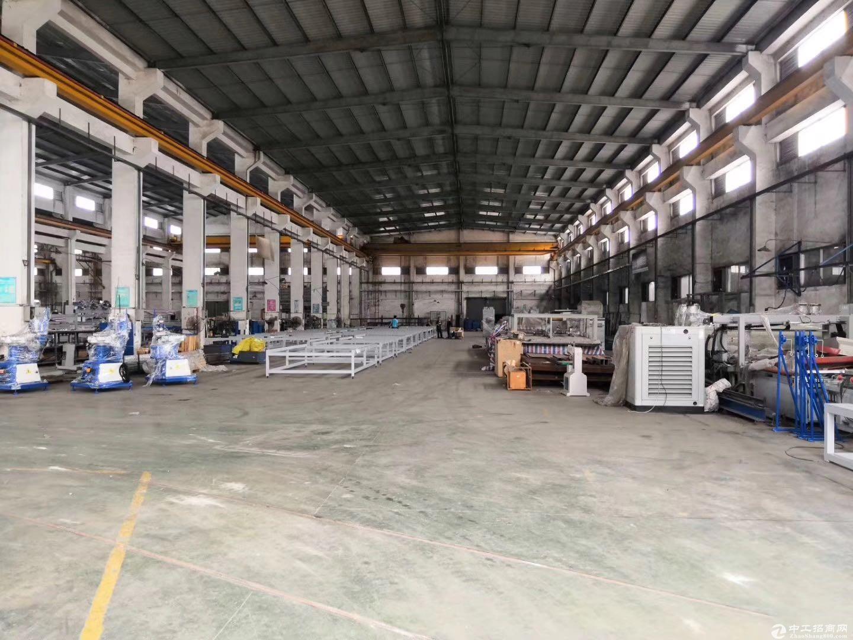 中山东凤独门独院 13000方单一层厂房出租带吊机