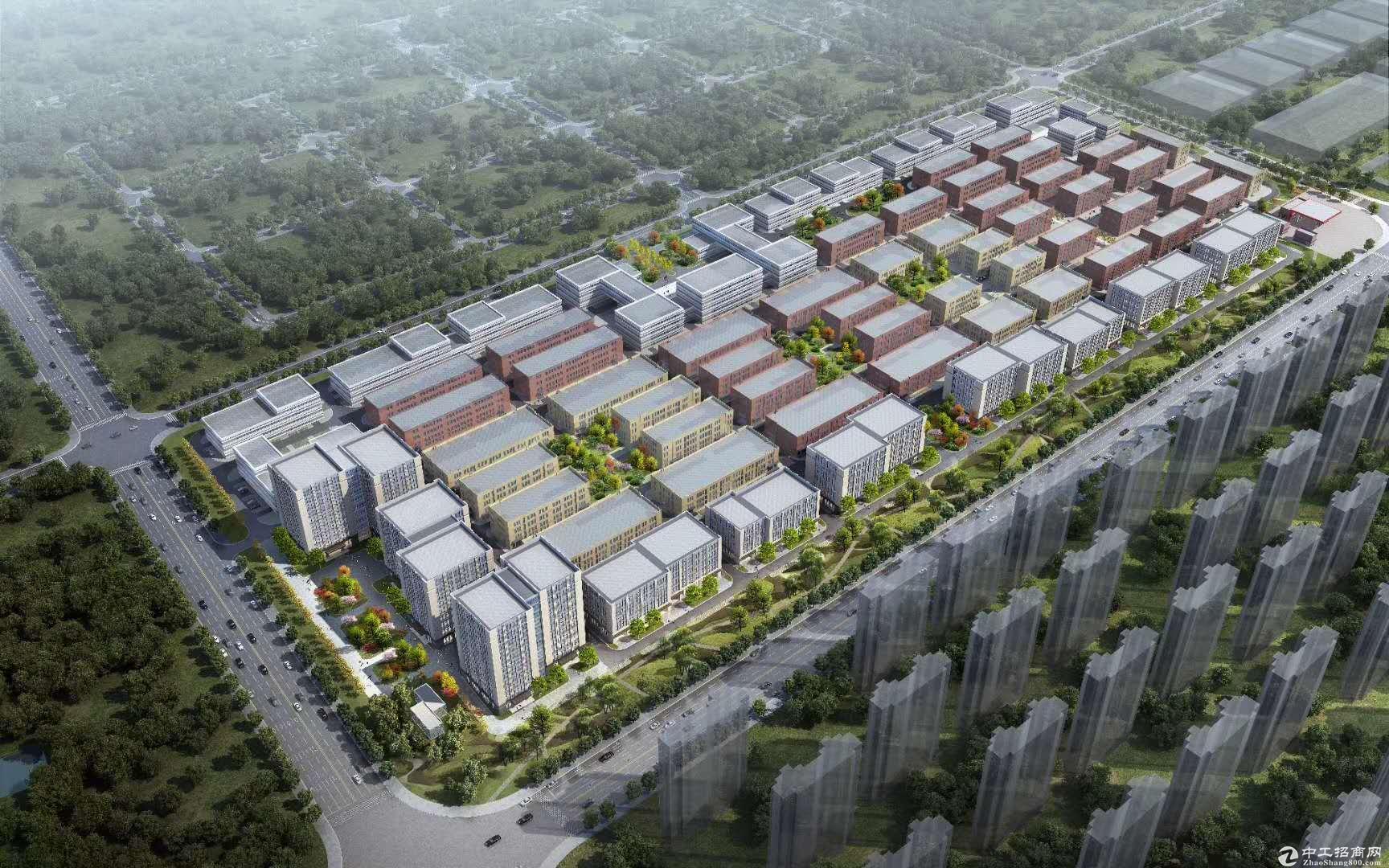 城阳高新区标准厂房出售、双证、50年产权、可贷款
