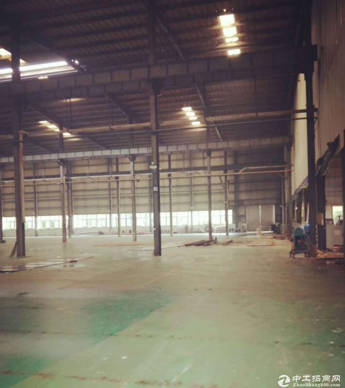 江北单层钢架结构配备10吨行车梁厂房出售