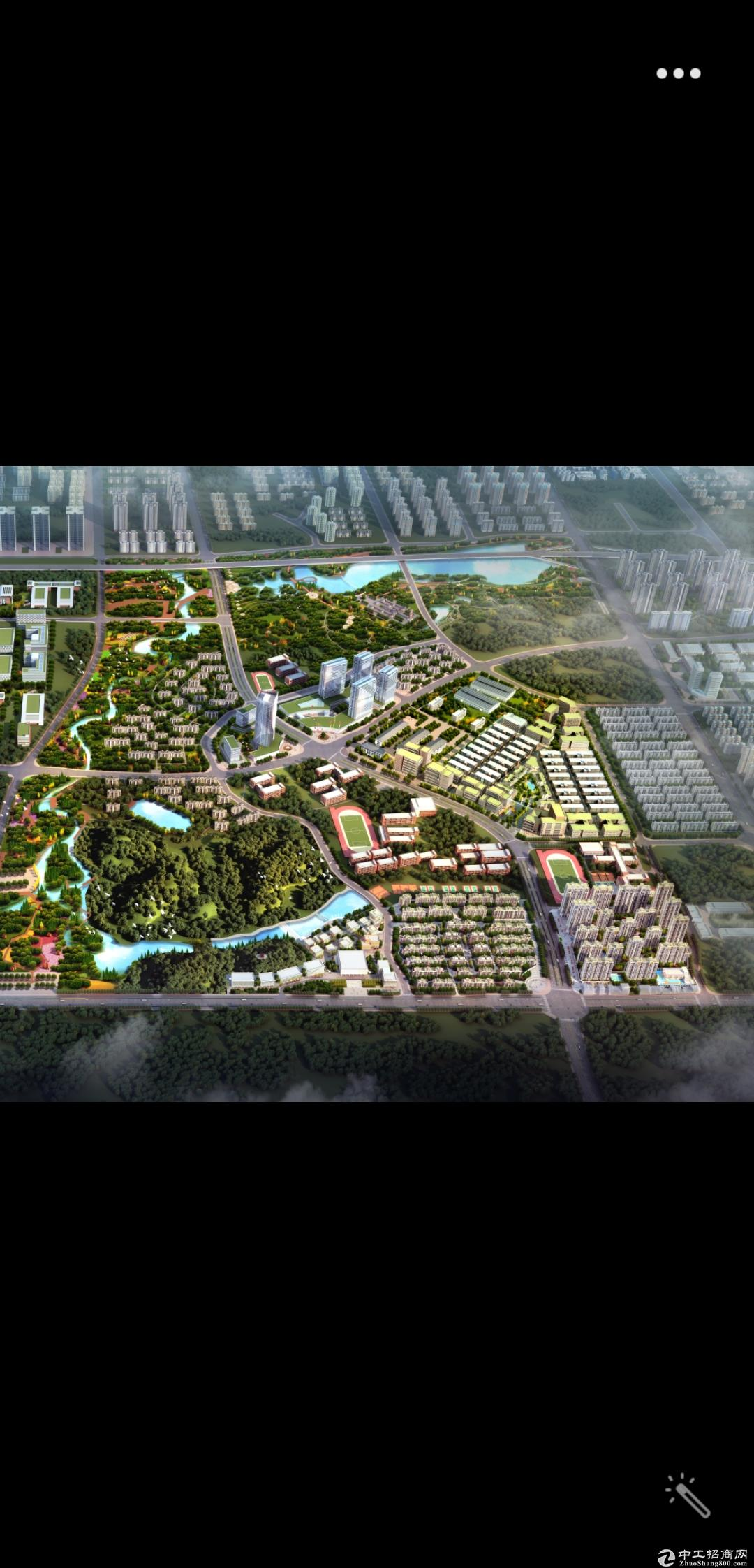 望城亿达智造小镇,三层独栋厂房1500平,层高7.8米,赠送200方院子