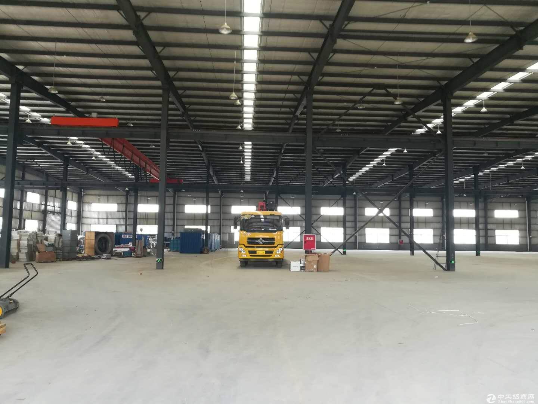 8000平钢结构厂房仓库出租 带行车 可分租