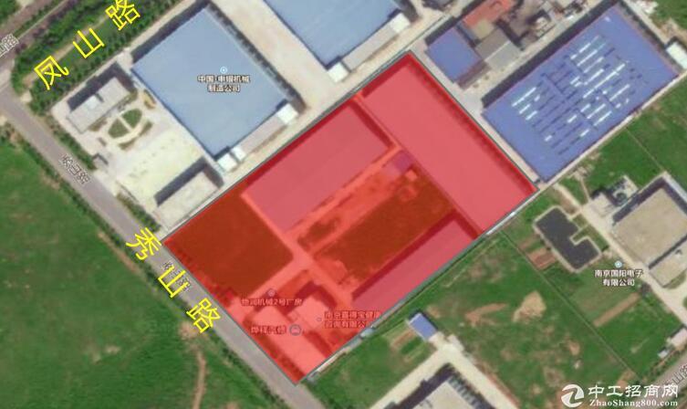 高淳经开区秀山路,1400平钢结构厂房出租,层高8米-图2