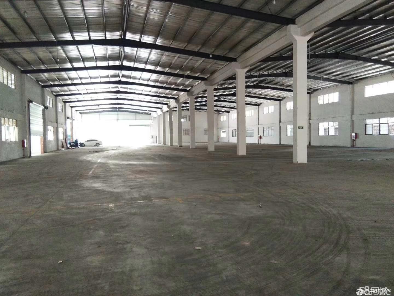 独门独院,空地大厂房高15米有20吨超大航吊