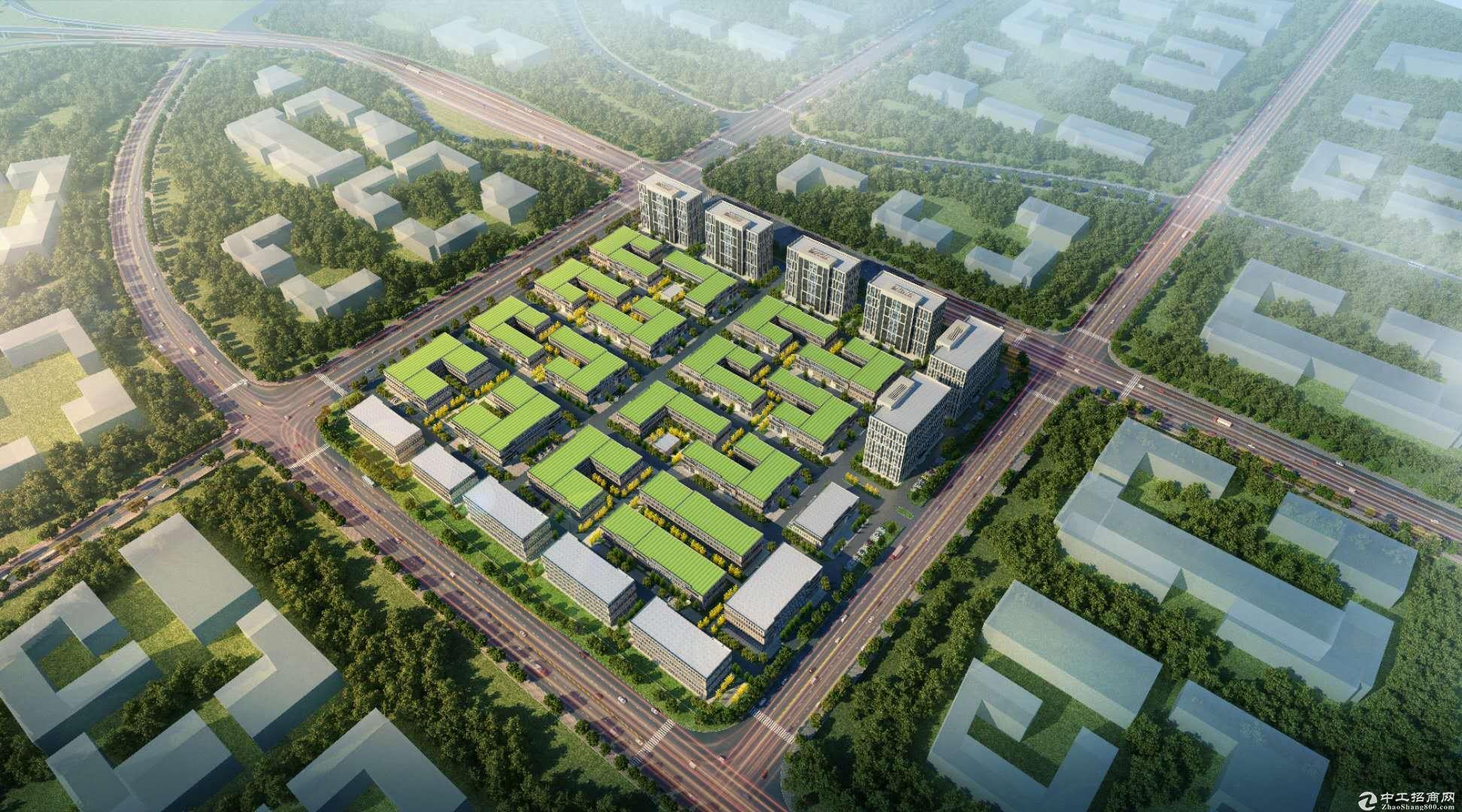 肇庆端州双龙片区小湘高速出口处 出售50年产权厂房 独栋/高层-图3