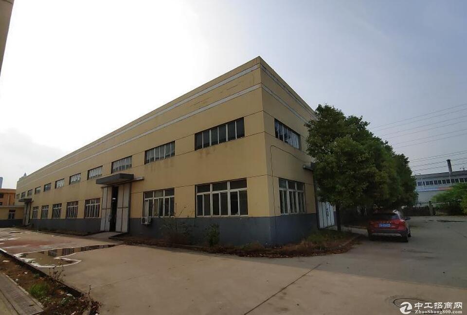 来安汊河经济开发区江浦路,钢结构厂房,有行轨