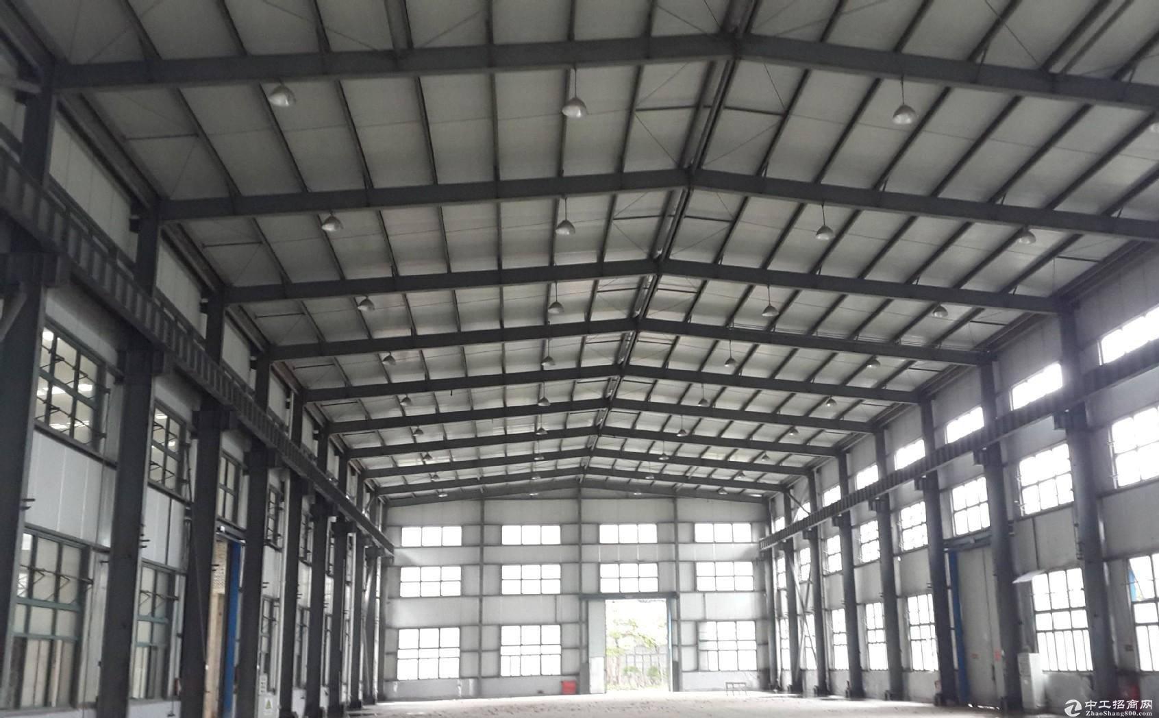 汊河经济开发区长宁路,钢结构厂房,可装行车