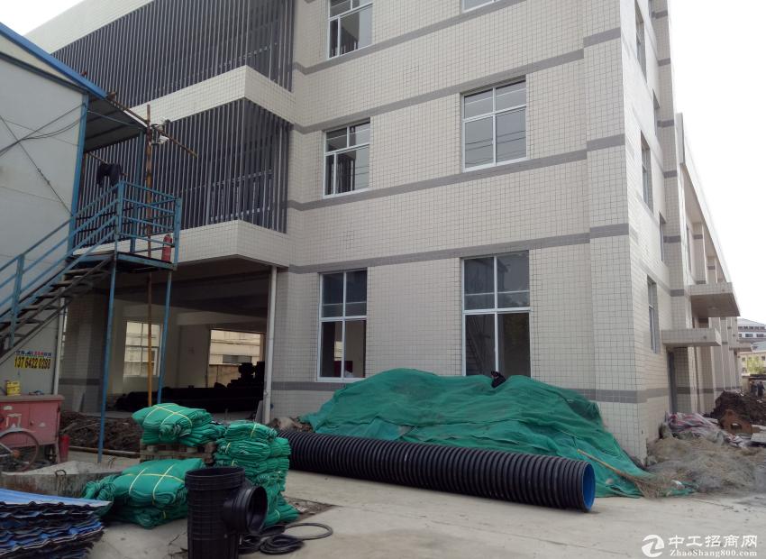 昆山陆家白杨湾工业区全新独栋单层厂房1920平
