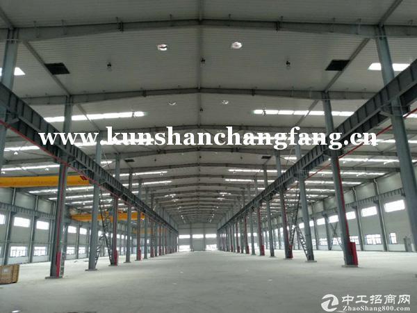 昆山蓬朗单层4000平米机械厂房 可架设25吨行车