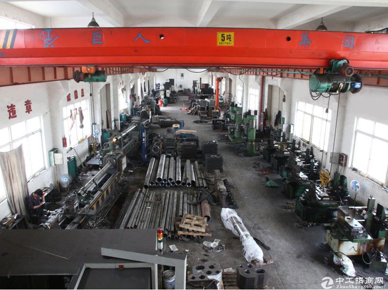 西漳稀缺房源,1400平单层机械厂,环氧地坪