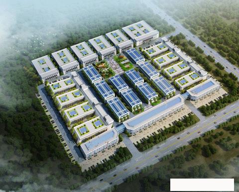 潍坊滨海新区绿天使产业园厂房招商