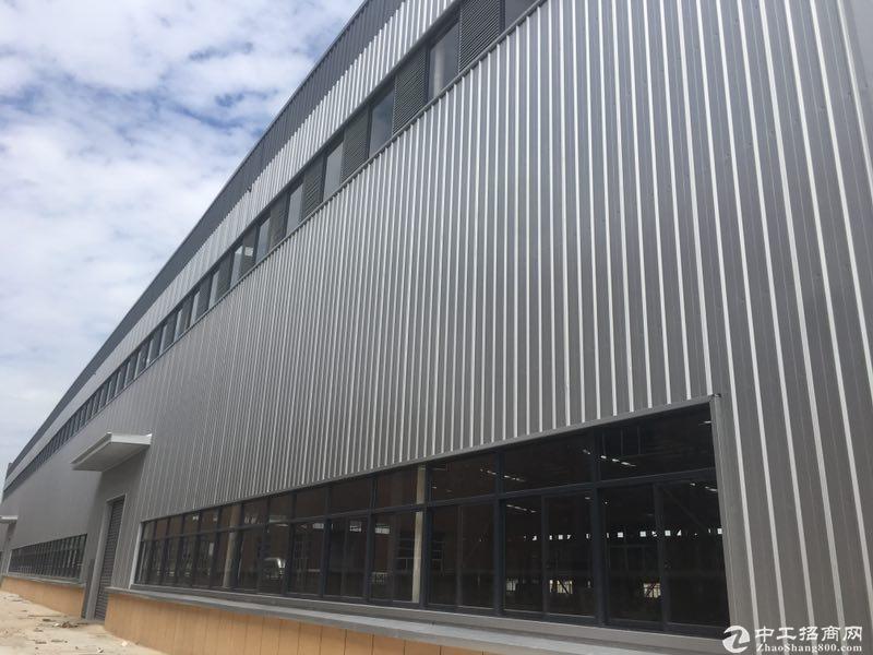 出租长兴经济开发区新建钢结构厂房配有行车可分租