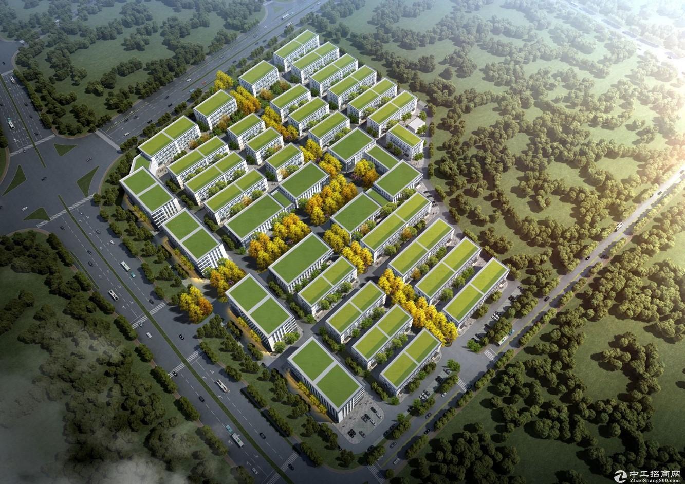 南宁高新区全新1200−7000平米50年产权标准厂房出售,低首付可分期可按揭