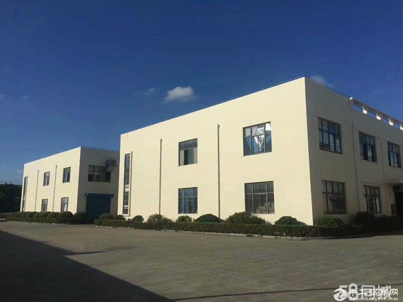 青浦香花桥13亩4300平单层8米104块厂房出售