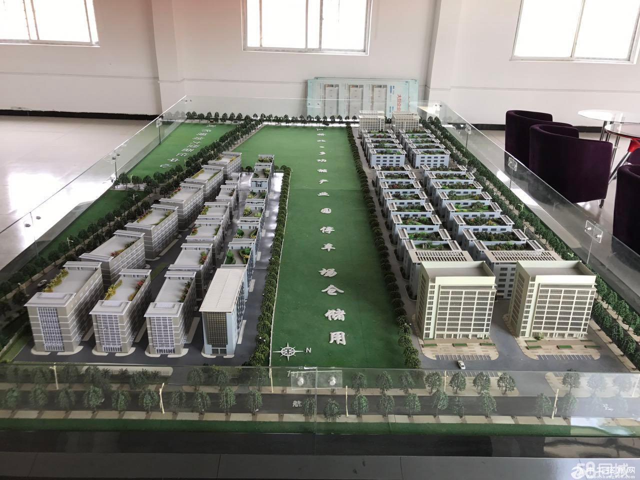低价抛售樊城中航大道北方永发国际都市产业园独栋厂房