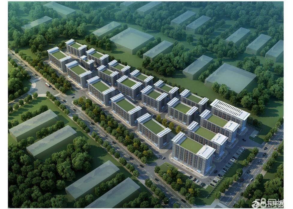 低价抛售樊城中航大道北方永发国际都市产业园独栋厂房-图3
