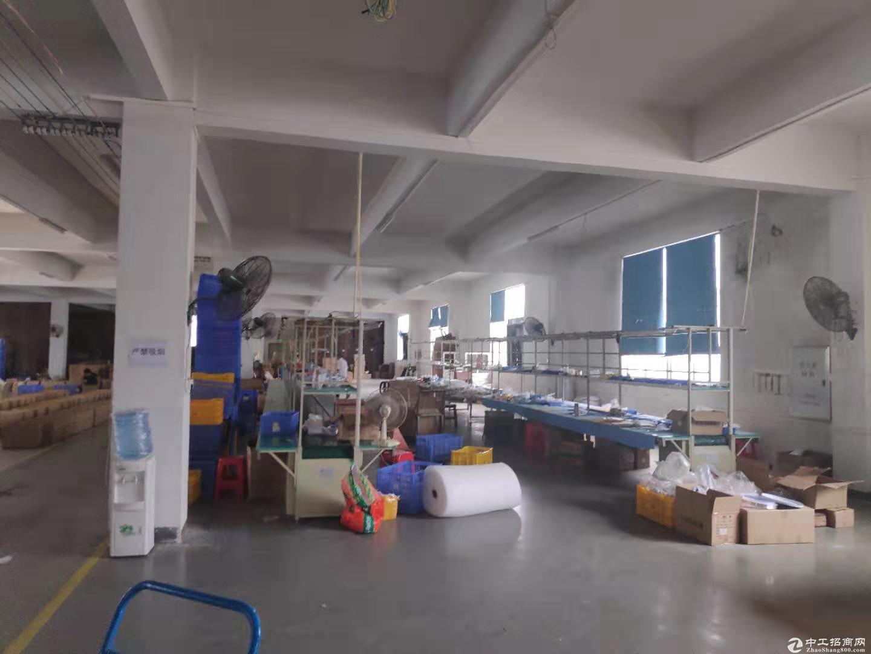 江海高新工业区标准厂房2500方出租 形象好可分租