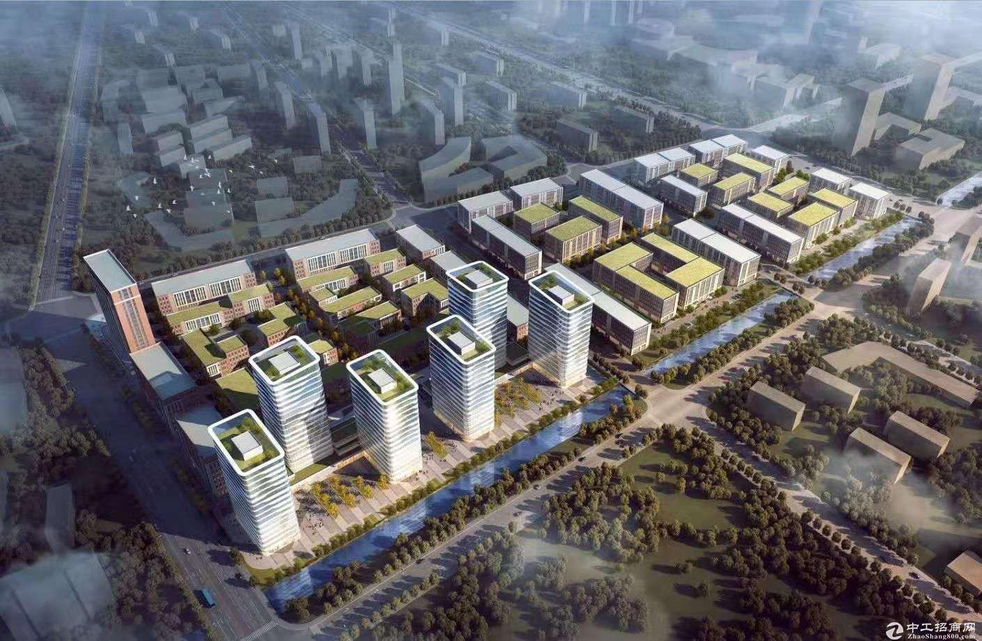南京江北新区 独立产权厂房 可贷款 层高八米
