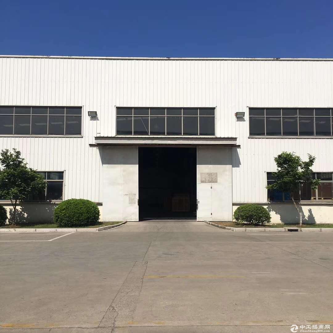 曹路工业区104地块可办环评1900平单层层高9米带行车证齐
