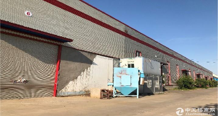 和庄镇雪燕面粉厂对面,5千平钢构厂房,带行车