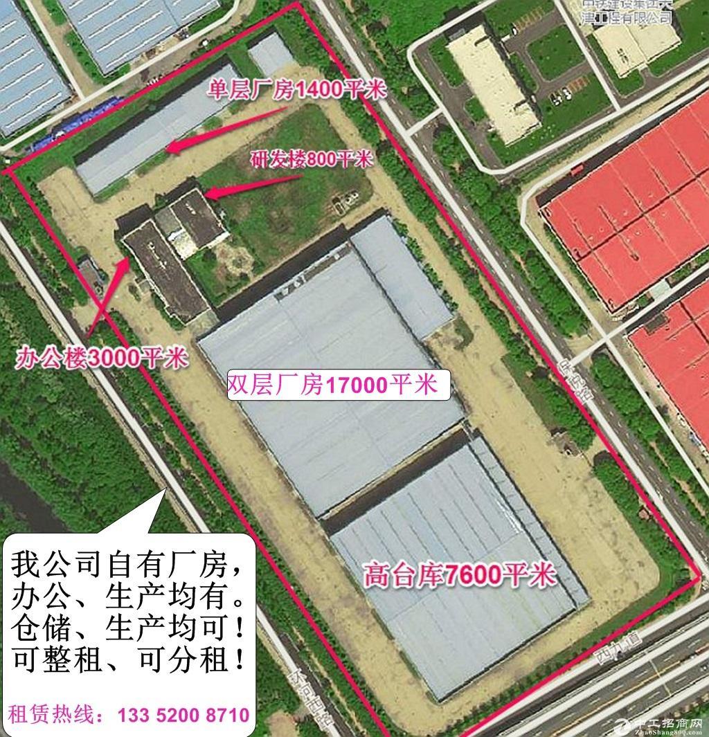 空港【32000平厂区出租】车间、仓库、办公均有,整租分租均可!
