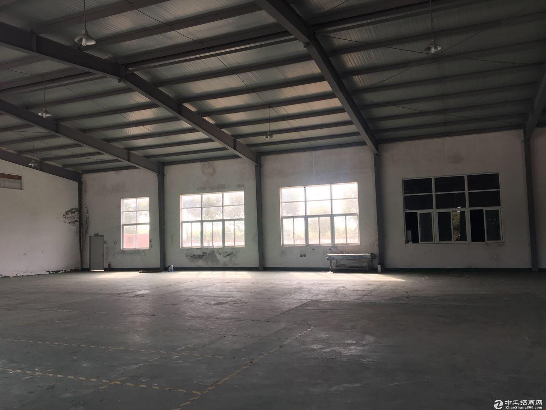 松江大港工业区8米2070平方绿证50年104生产加工办公仓