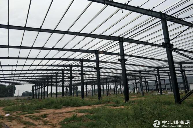 武陟詹店机器人产业园,钢结构万博app官方下载,层高6米