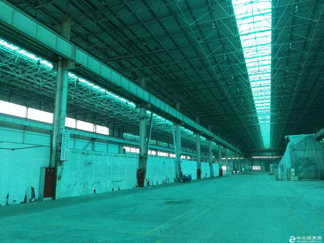 川沙独栋厂房出租高15米 机械加共生铲环评 仓储物流行业