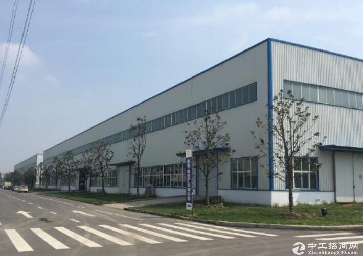 长葛黄河工业园厂房出租,单层,层高12.5米