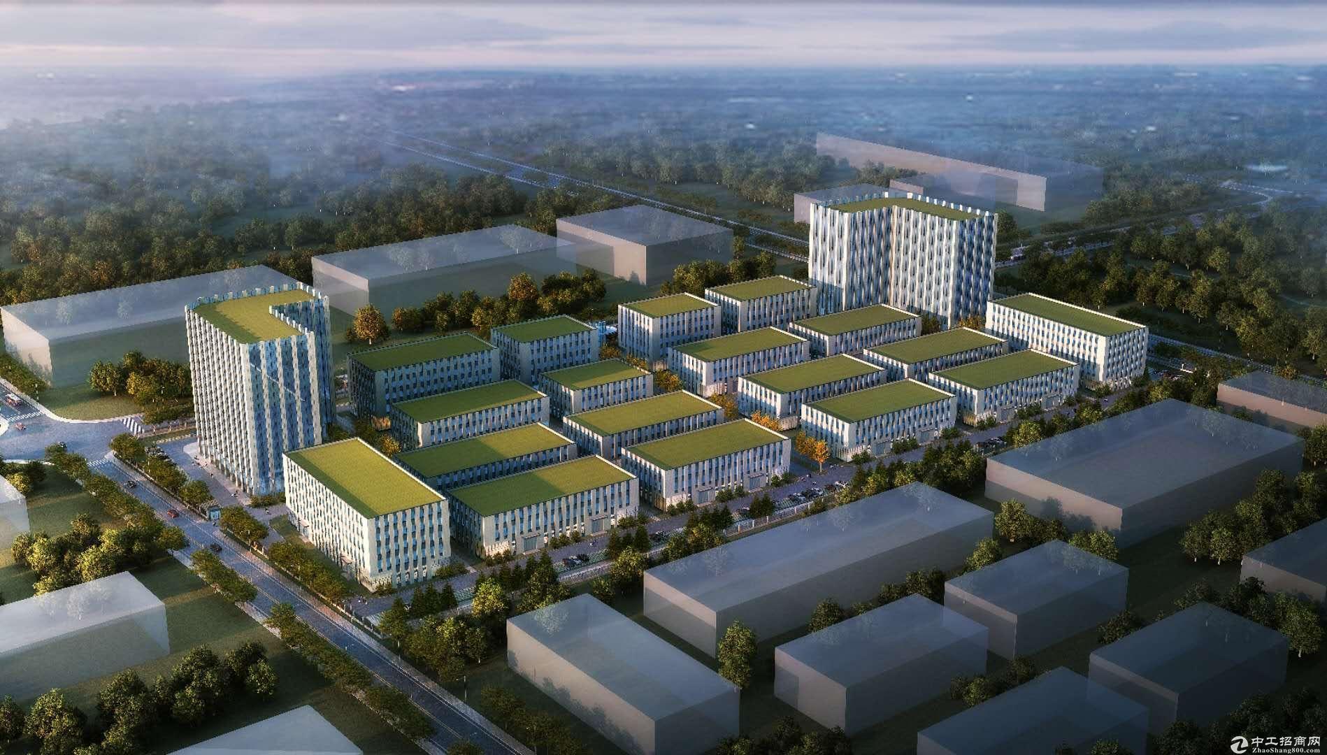 浙江省产业转移示范区 天子湖工业区标准厂房2000平