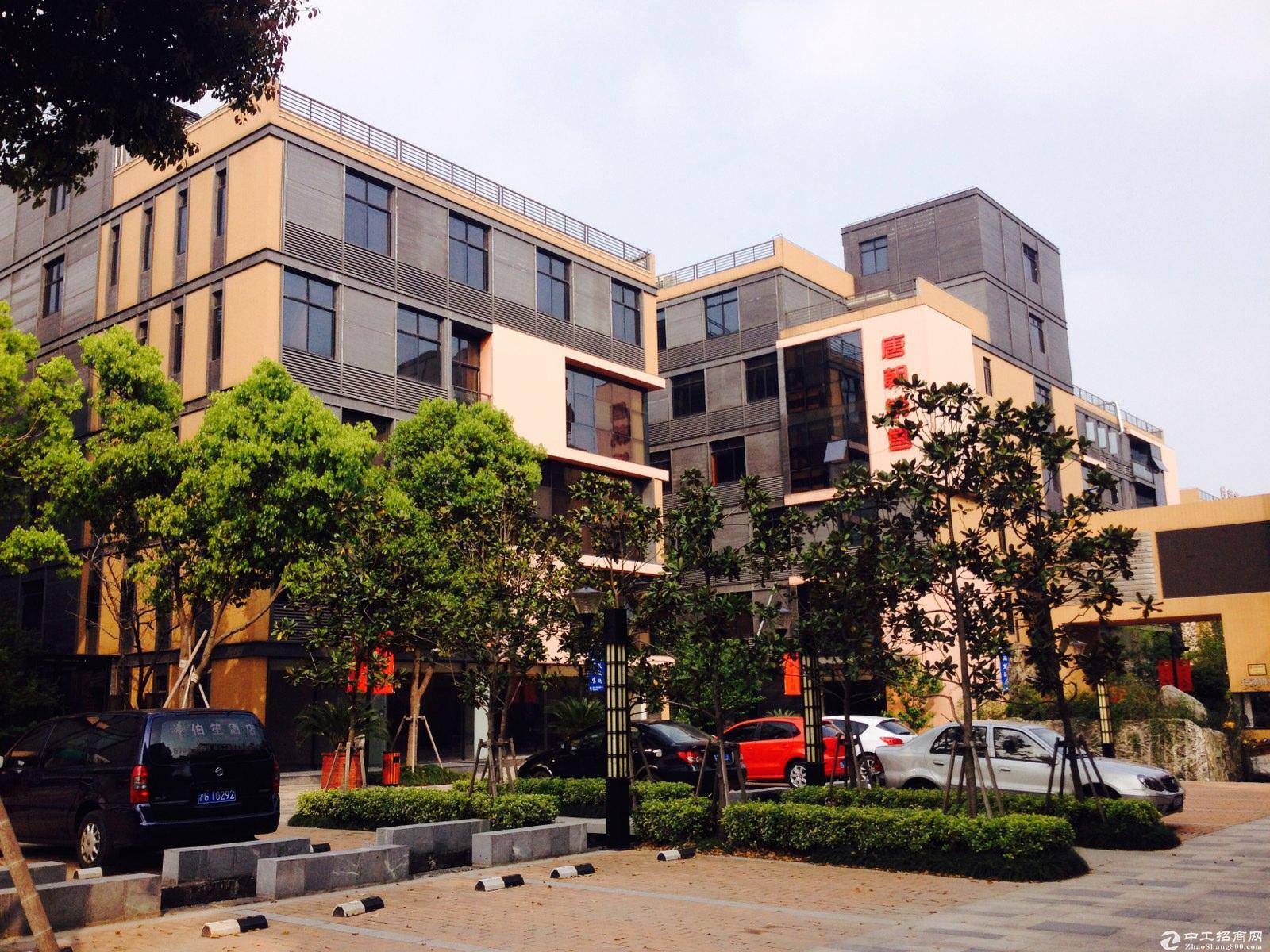 嘉定宝山高品质园区独栋四层精装绿证可仓储办公总部型工业类诚售