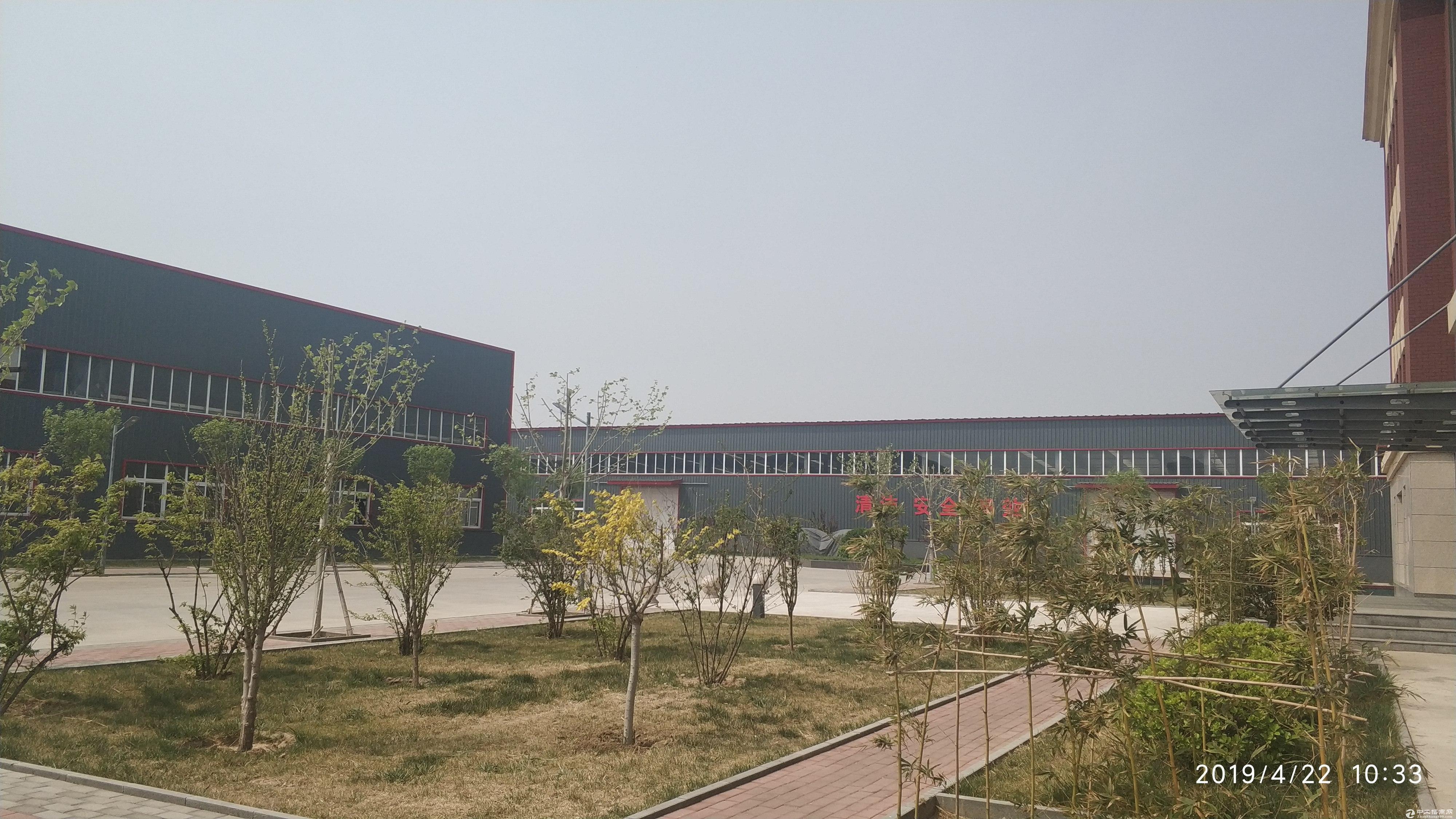 廊坊文安经济开发区优质厂房配办公室有宿舍食堂