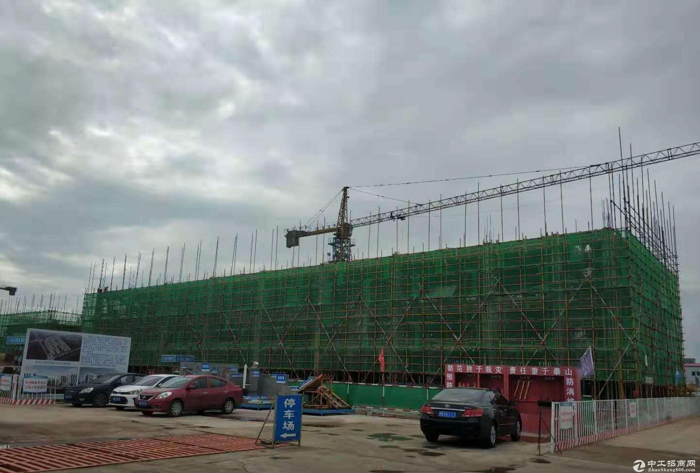 新建标准独栋厂房,层高8米,可贷款可分割可环评,手续齐全