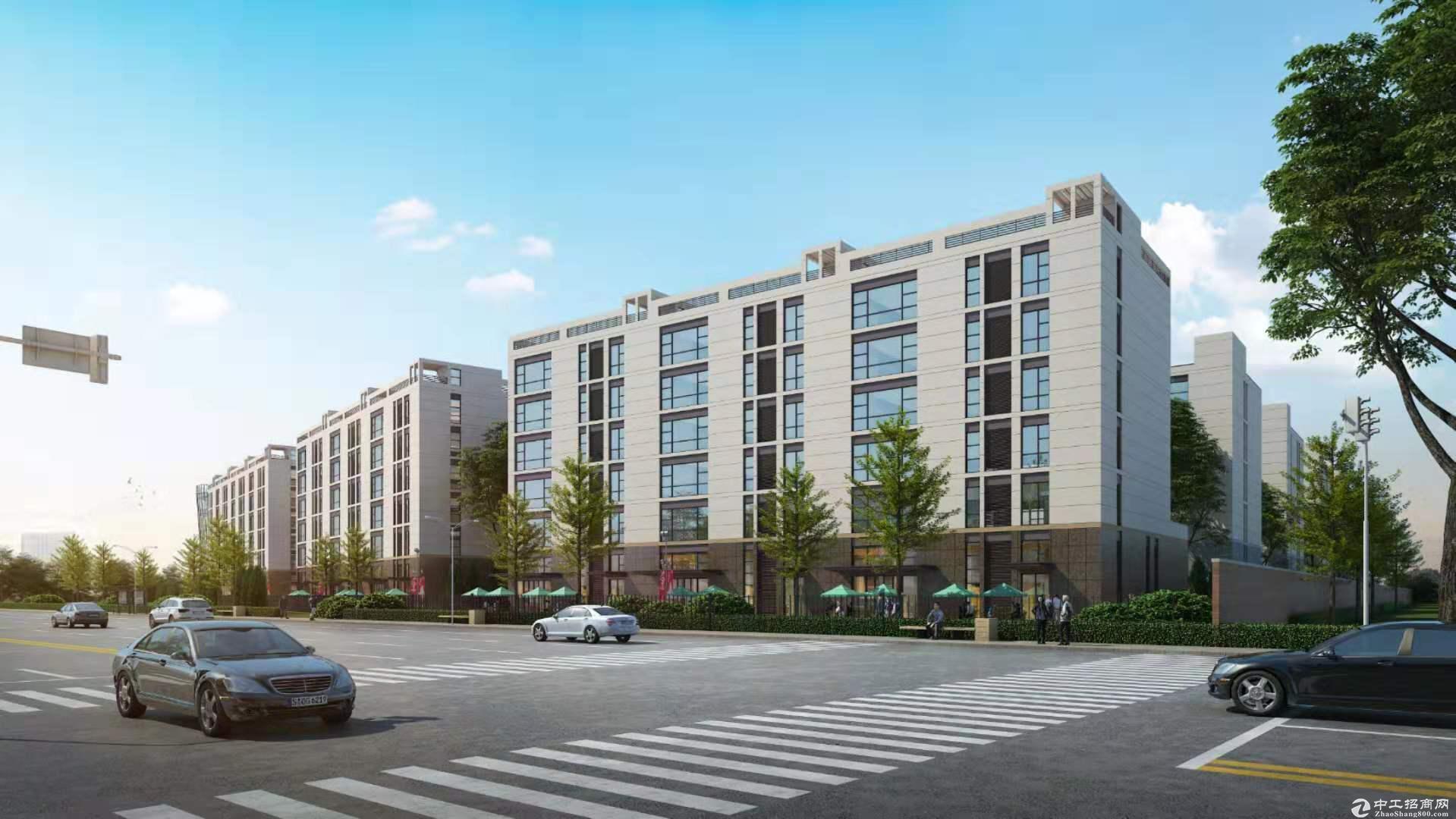 出售燕郊正规厂房独栋,联排,300平米起售-图2